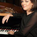 Constanze Beckmann on the piano